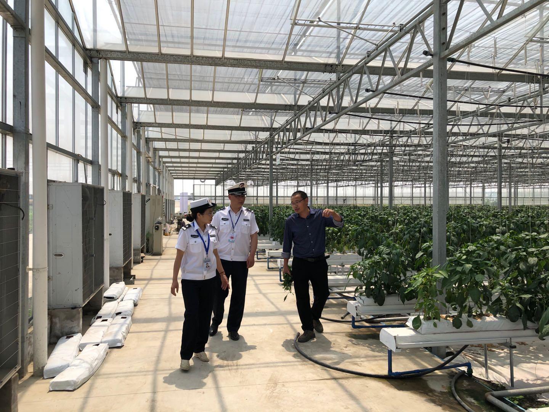 四川省农产品安全中心到我竞博app官方下载ios农业来视察